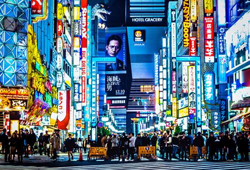 自由探索新宿街頭