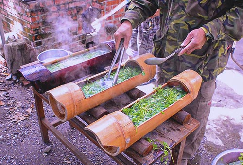 阿美族野炊養生魚湯