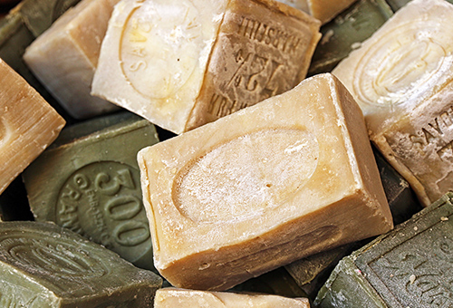 純天然的紀念品馬賽皂