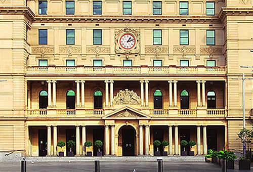 古色古香的雪梨海關大樓