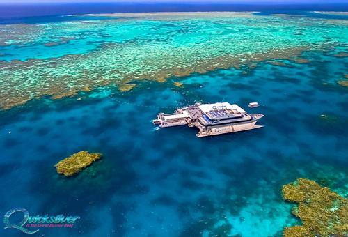 直升機俯瞰大堡礁