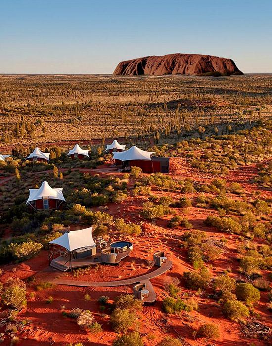 全球十大奢華帳篷酒店-澳洲