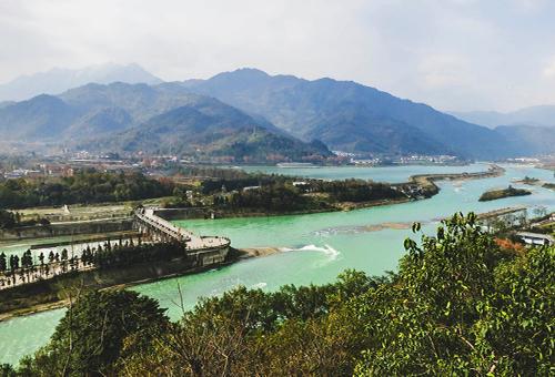 都江堰全景