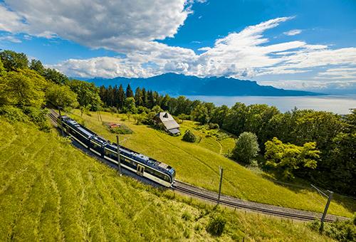 躍上黃金列車閱覽美景