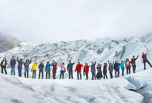 來一場冰原歷險記