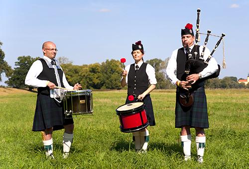 偶遇蘇格蘭風笛手