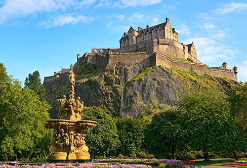 近距離感受愛丁堡城堡風情