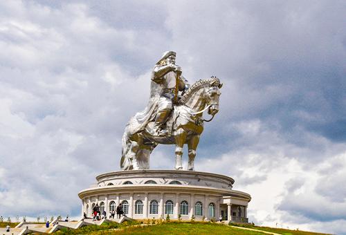 成吉思汗巨型雕像