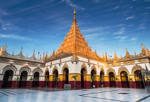 神聖的馬哈木尼寺院