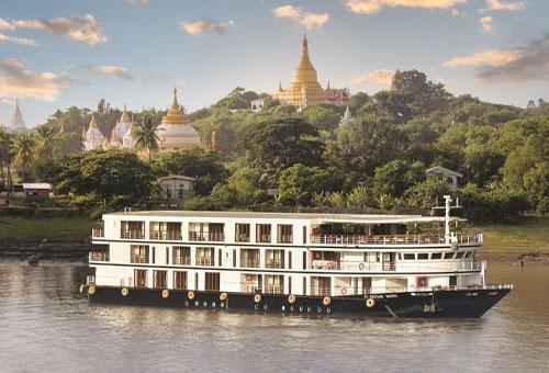 緬甸奢華河輪Ananda cruise