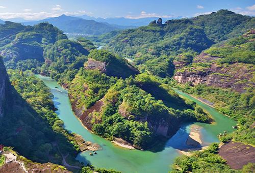 天遊峰觀九曲溪
