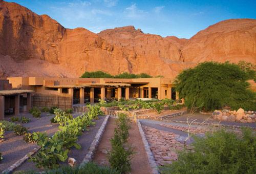入住Atacama沙漠五星酒店