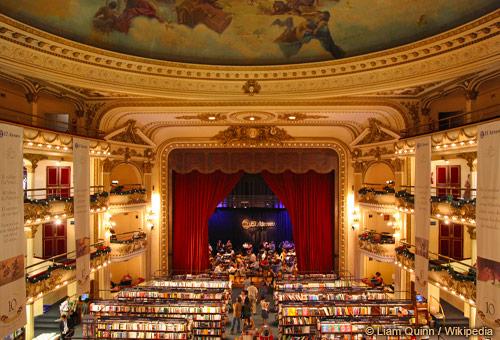 遇見世界第二美書店El Ateneo