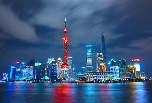 走賞夜上海繁景
