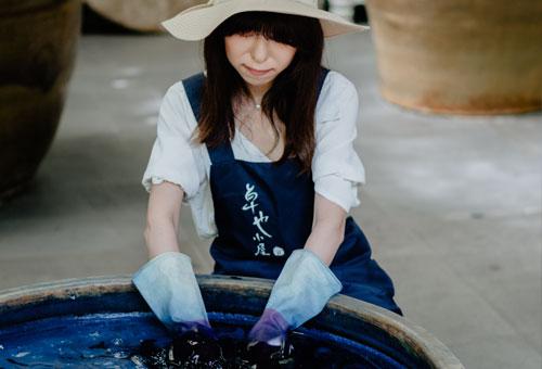 親手製作專屬的天然藍染