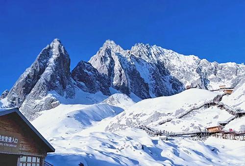 瞻仰玉龍雪山壯美風采