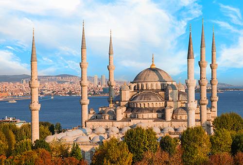 一睹藍色清真寺的宏偉