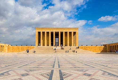 土耳其的起點 莊嚴肅穆的凱末爾紀念館