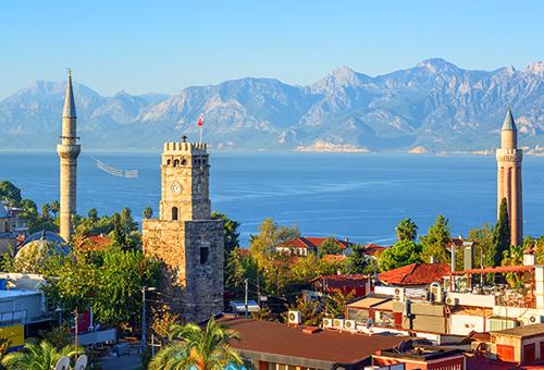 安塔莉亞 感受地中海小鎮的浪漫