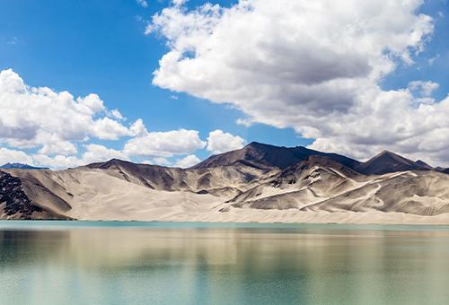 驚艷白沙湖純淨之美