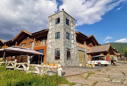 白樺林度假酒店Kanas The Birch Forest Resort Hotel