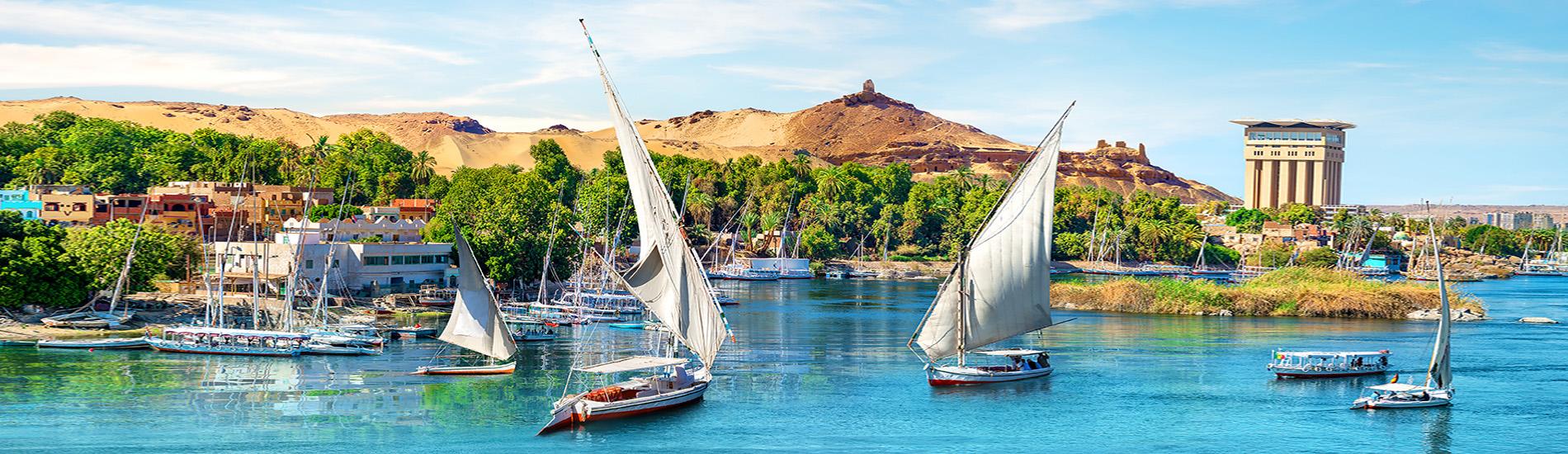 尼羅河三角帆船
