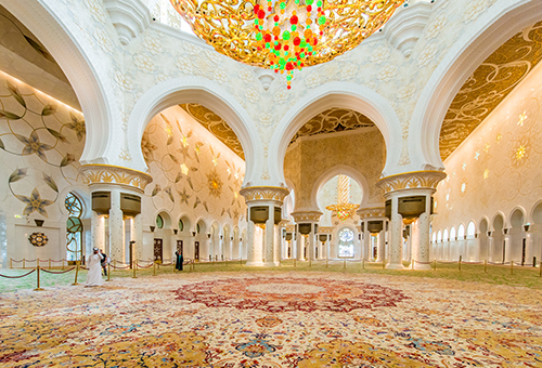 親臨謝赫扎耶德大清真寺