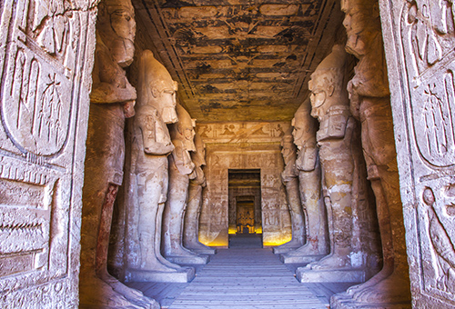 置身拉美西斯二世神殿的榮耀
