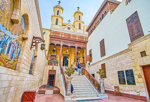 參觀埃及最古老教堂之一 - 懸空教堂