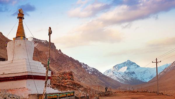 青藏風情 (含聖母峰)飛機團