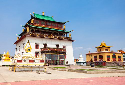 拜訪蒙古國最大寺廟甘丹寺