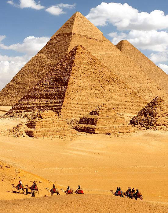 沙漠奇蹟和神祕古文明 - 杜拜 埃及