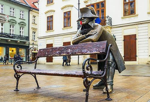 雕像- 拿破崙的士兵