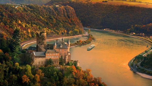 瑞士+萊茵河輪