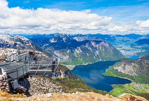 擁抱居高臨下的震撼美景-Dachstein 五指山