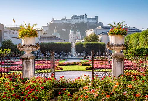 漫遊令人心曠神怡的米拉貝爾宮