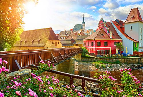 徜徉於浪漫的童話小鎮庫倫洛夫