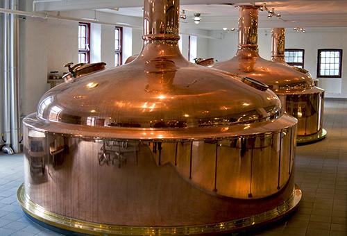 參訪皮爾森百年啤酒工廠