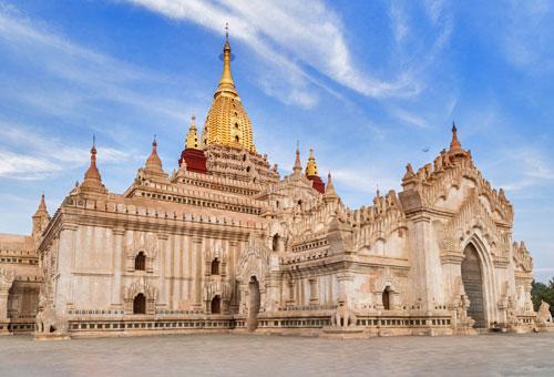 精緻細膩的阿南達寺