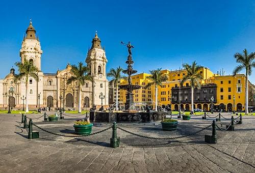 在Lima世界遺產舊城區漫步