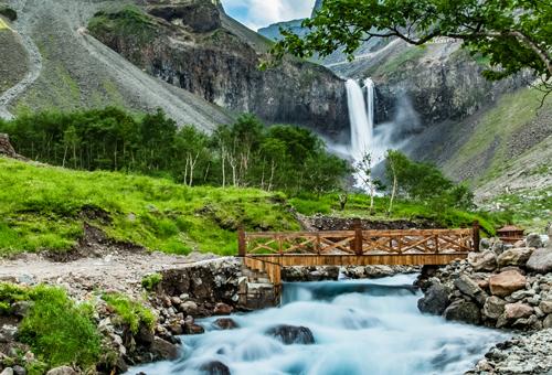 趣遊北坡長白瀑布