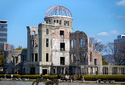 參觀祈願和平的世界文化遺產 - 原爆圓頂