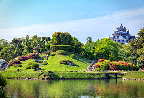 探訪岡山後樂園親身感受歷史與文化
