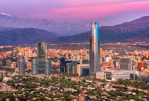 抵達南美最現代化都市Santiago
