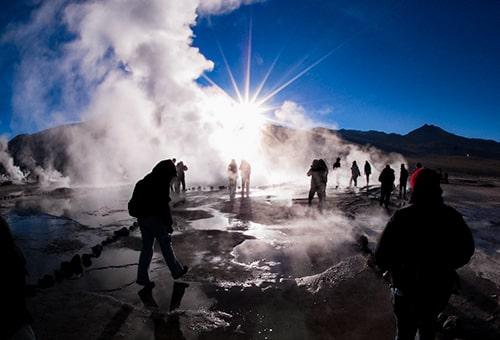 清晨尋訪Tatio Geysers地熱間歇泉