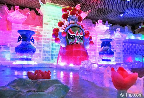 趣賞花式冰雕