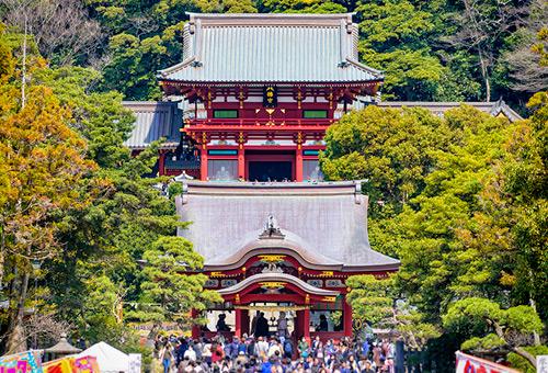 參訪鎮守鎌倉的守護神社
