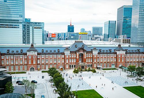 見識東京車站新舊交融的美麗光景
