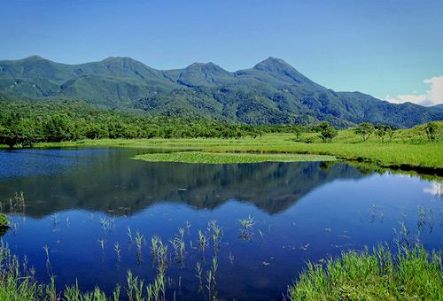 知床五湖健行觀察湖邊生態