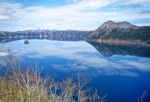 欣賞霧之摩周湖的美